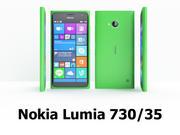 Nokia Lumia 730/35 3d model