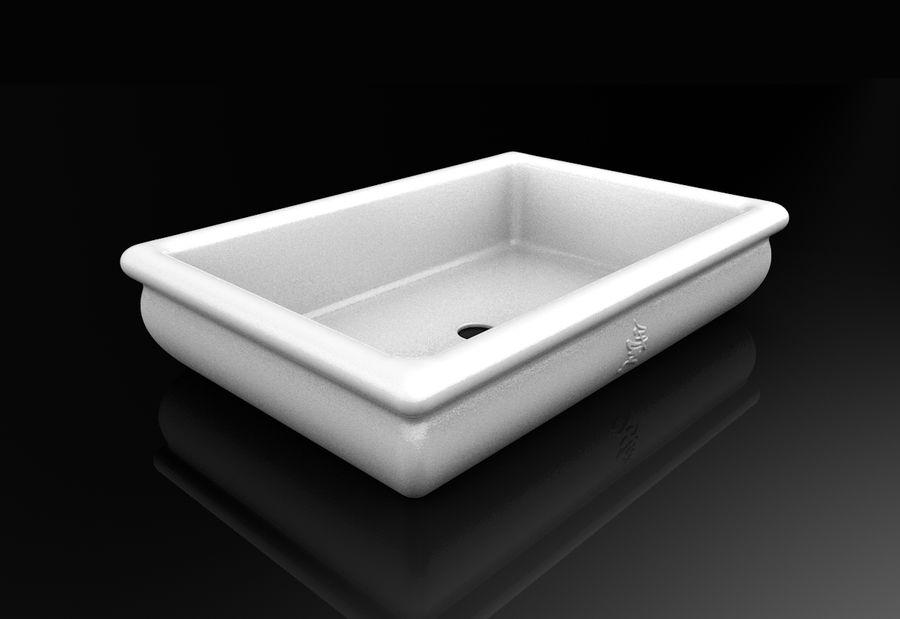 Bonsai Pot royalty-free 3d model - Preview no. 8