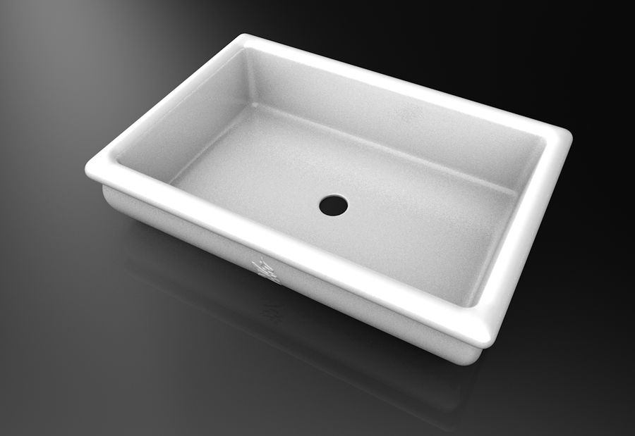 Bonsai Pot royalty-free 3d model - Preview no. 9