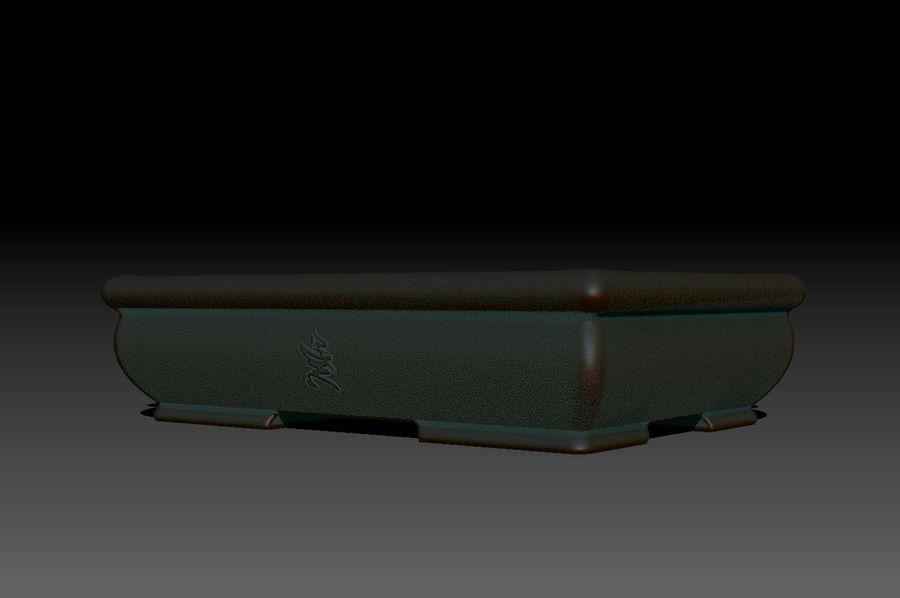 Bonsai Pot royalty-free 3d model - Preview no. 3