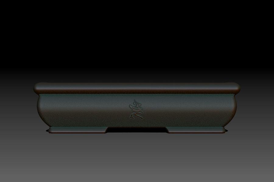 Bonsai Pot royalty-free 3d model - Preview no. 1