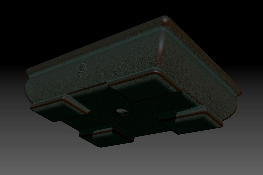 Bonsai Pot royalty-free 3d model - Preview no. 5