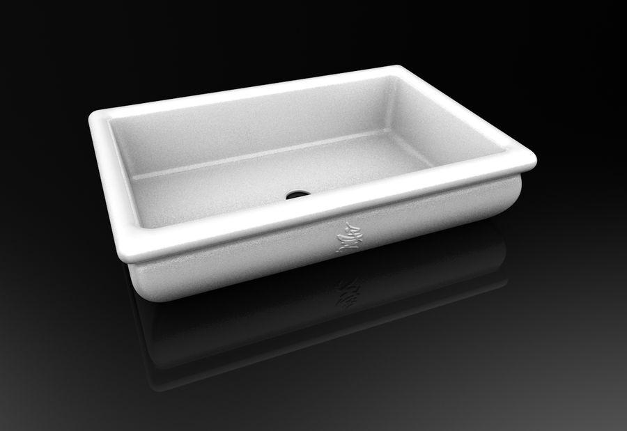 Bonsai Pot royalty-free 3d model - Preview no. 6
