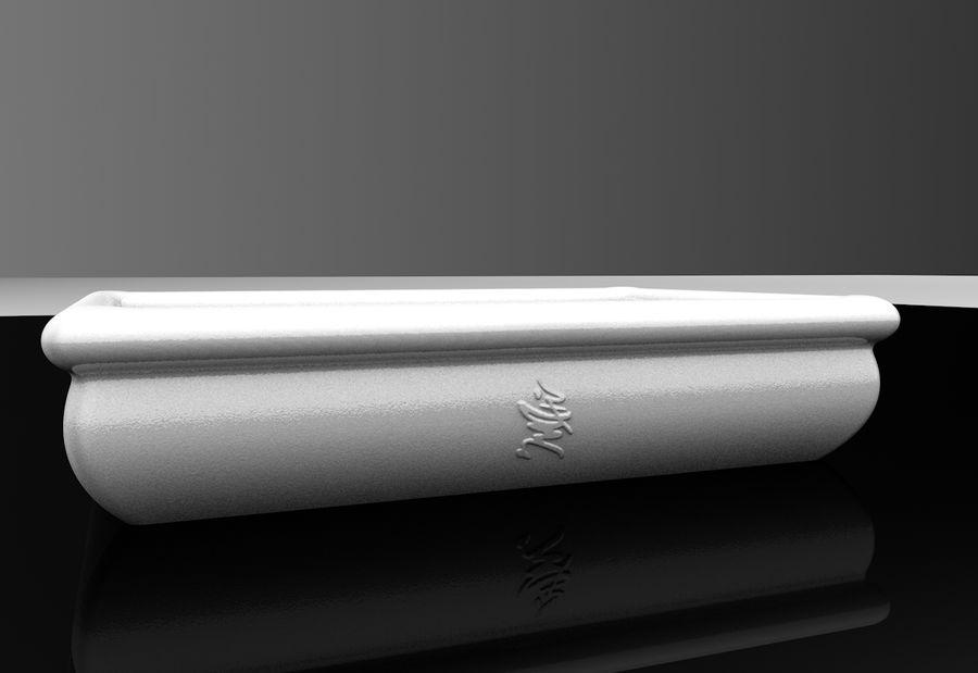 Bonsai Pot royalty-free 3d model - Preview no. 4