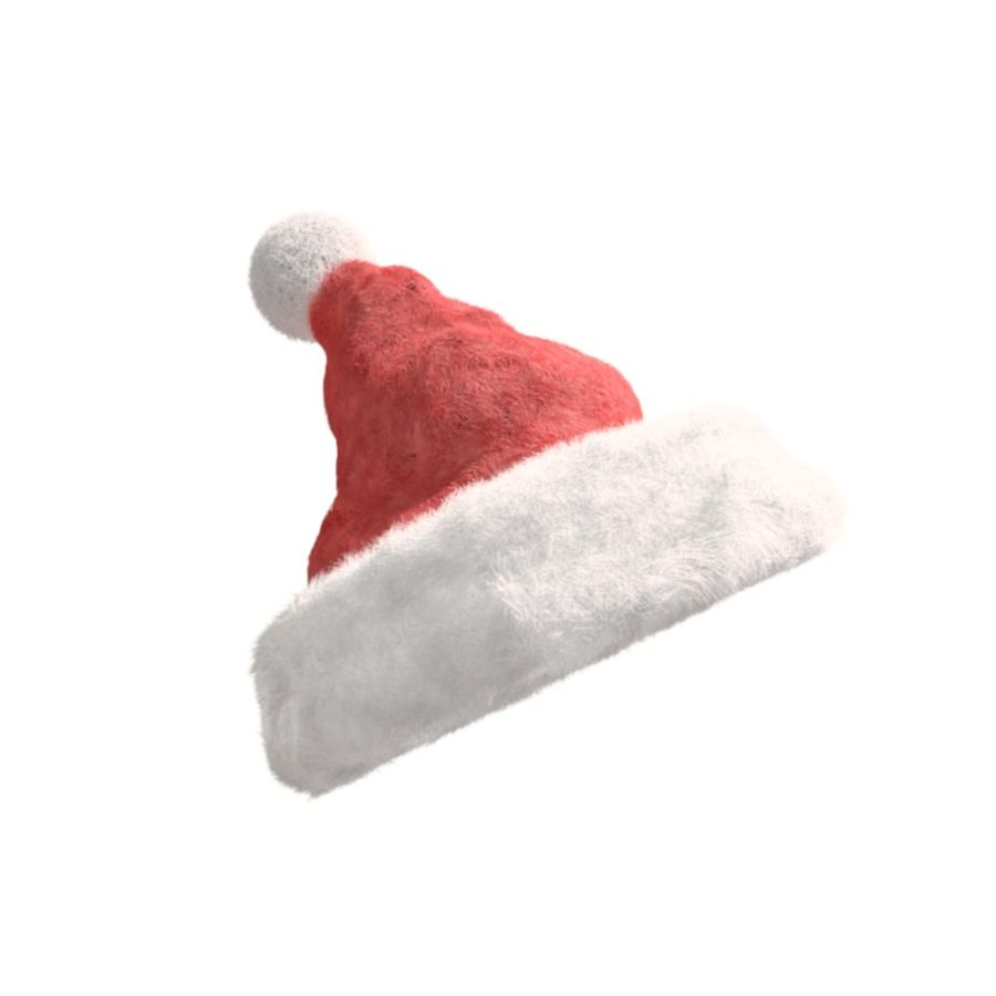 Christmas Hat royalty-free 3d model - Preview no. 1