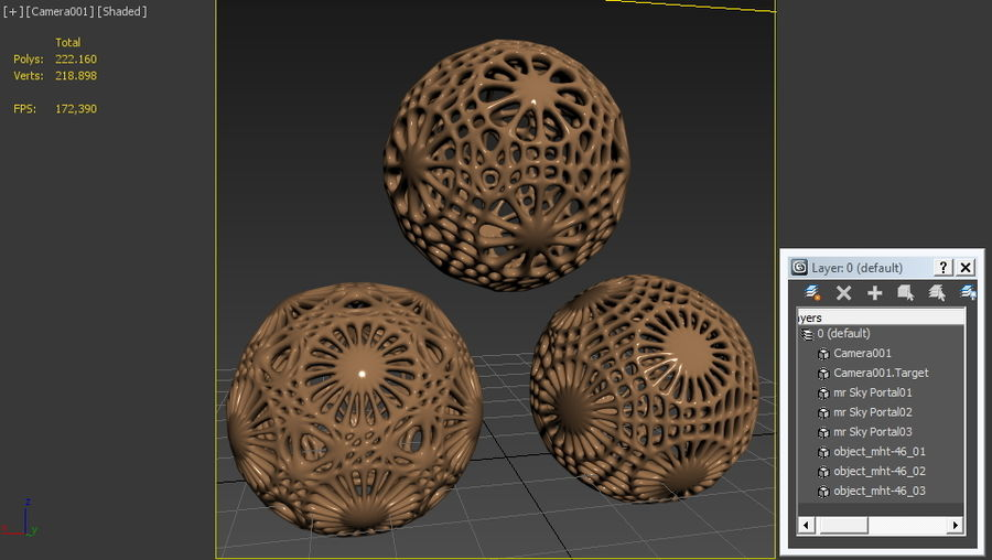 Object MHT-46 royalty-free 3d model - Preview no. 6