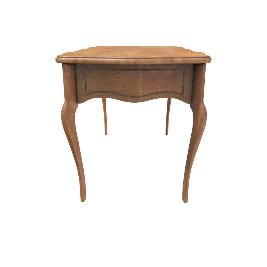 Louis XV table royalty-free 3d model - Preview no. 3