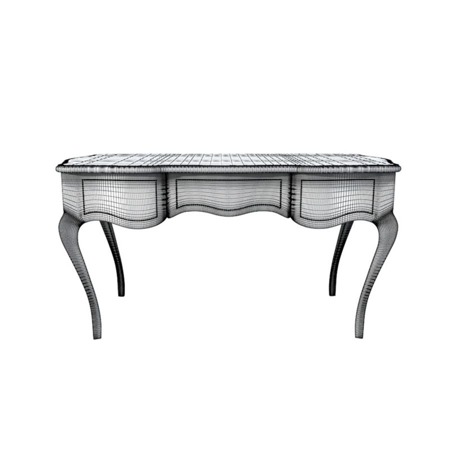 Louis XV table royalty-free 3d model - Preview no. 6