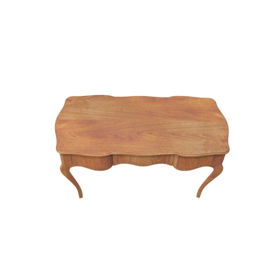 Louis XV table royalty-free 3d model - Preview no. 4