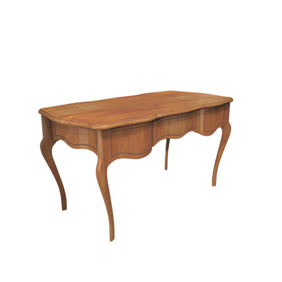 Louis XV table royalty-free 3d model - Preview no. 1