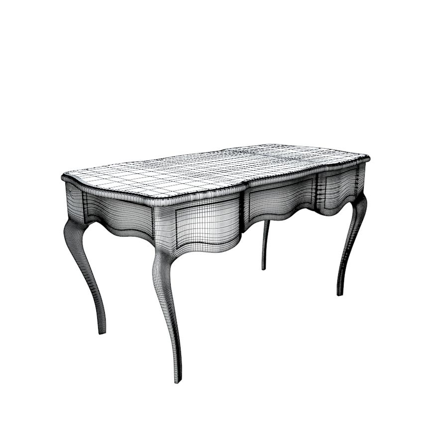 Louis XV table royalty-free 3d model - Preview no. 5
