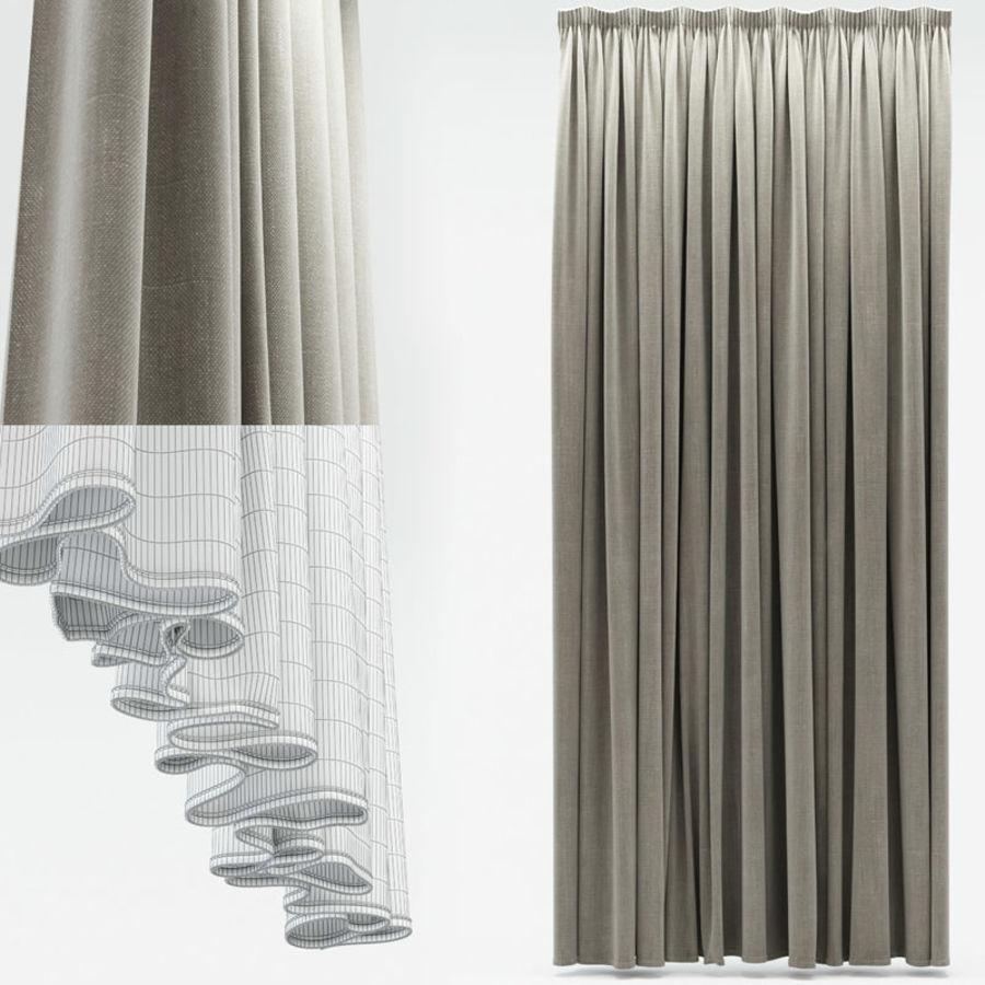Curtain 3D Model $19 - .fbx .obj .max - Free3D