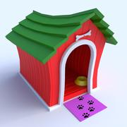 Doghouse Cartoon 3d model