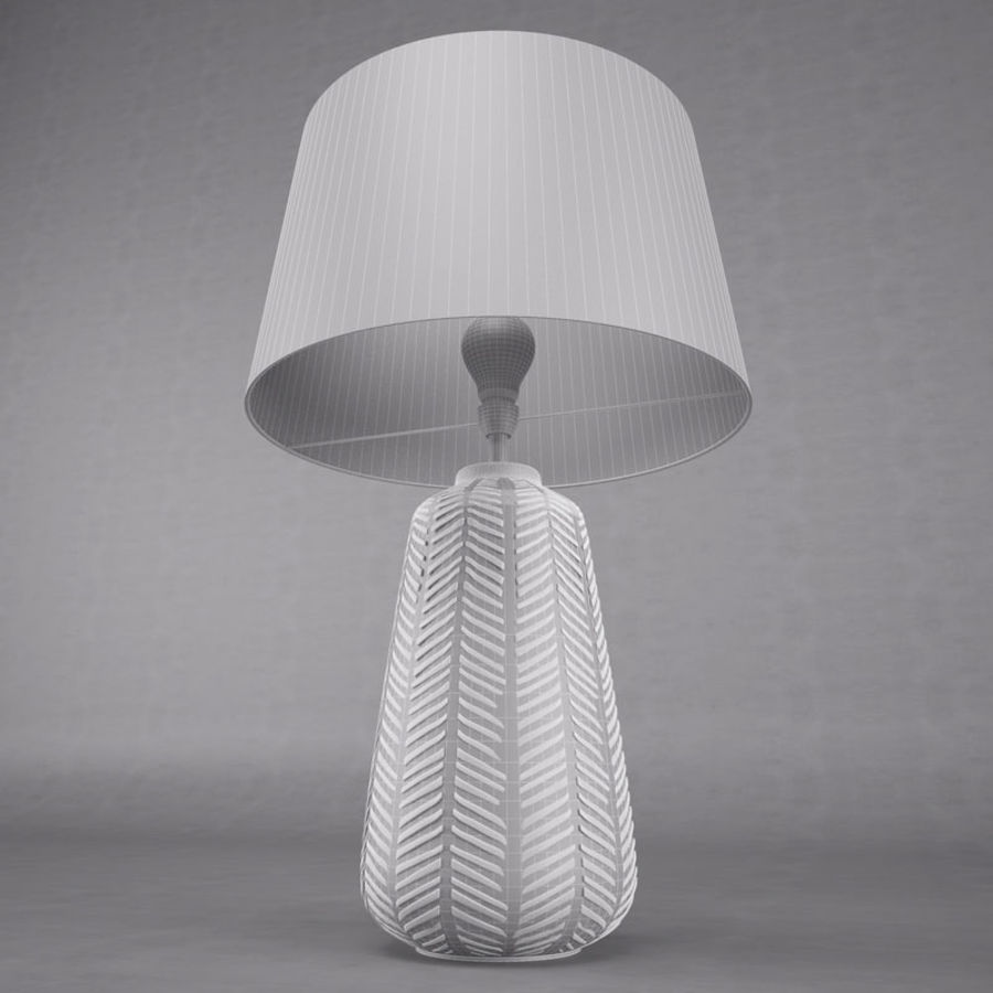 Table Lamp royalty-free 3d model - Preview no. 6
