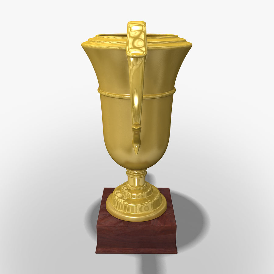 Prize cup royalty-free 3d model - Preview no. 5