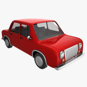 cartoon car 2 3d model