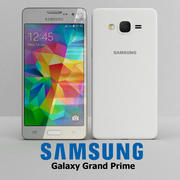Samsung Galaxy Grand Prime White 3d model