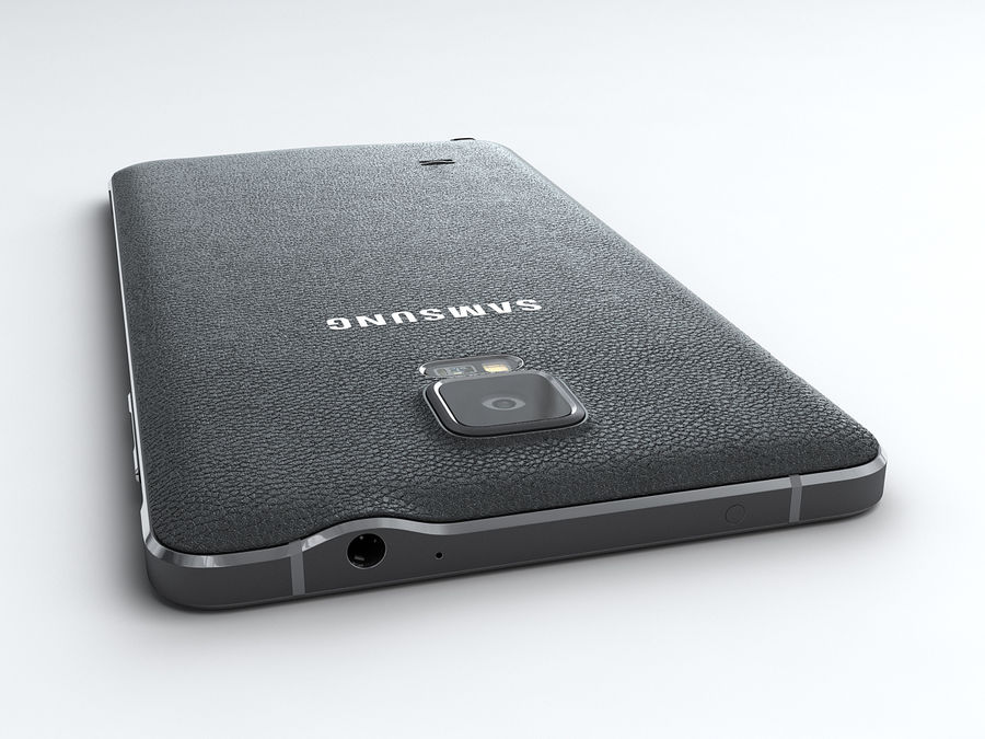 Samsung Galaxy Note 4 royalty-free 3d model - Preview no. 7