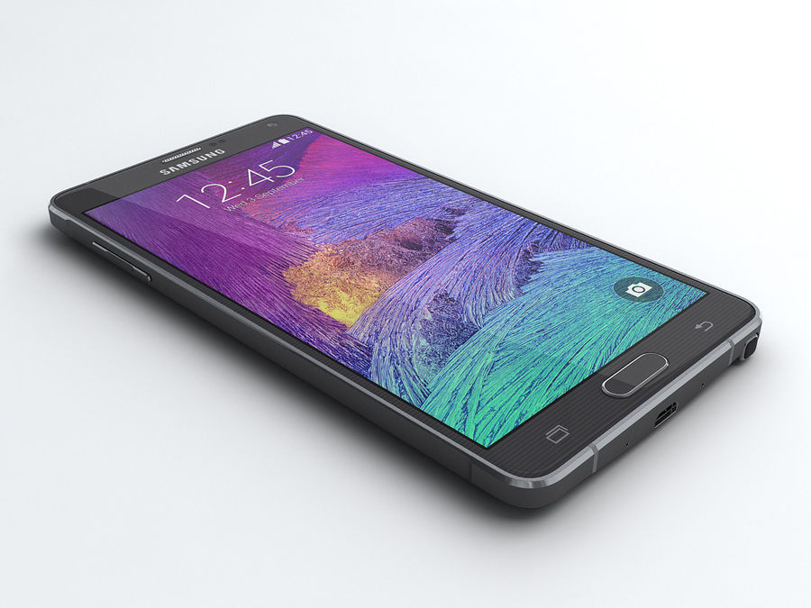 Samsung Galaxy Note 4 royalty-free 3d model - Preview no. 1