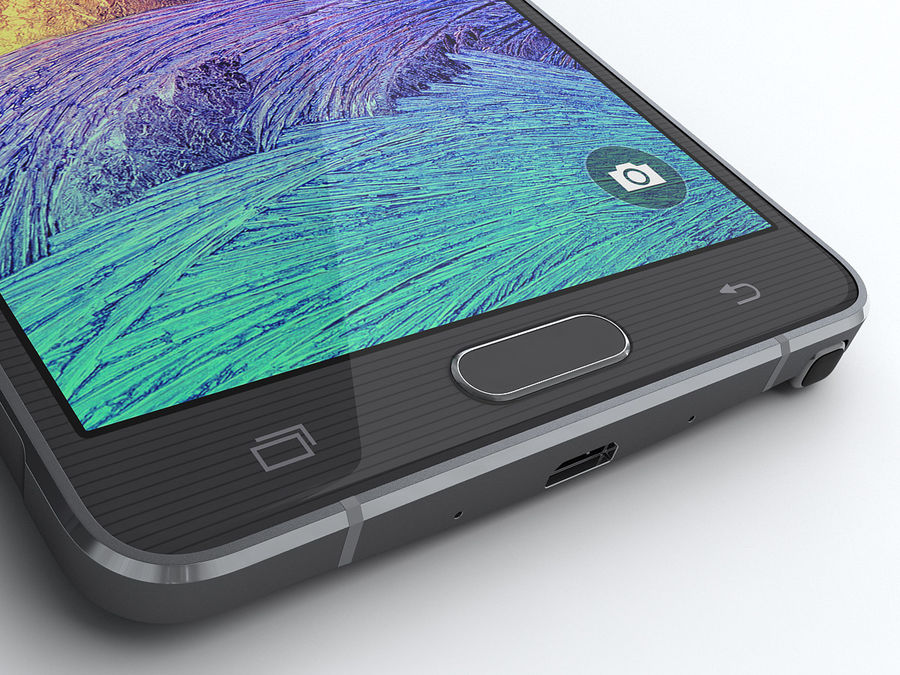 Samsung Galaxy Note 4 royalty-free 3d model - Preview no. 13