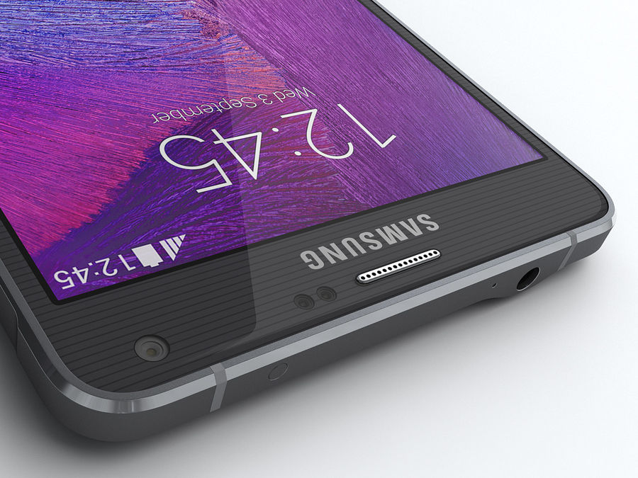 Samsung Galaxy Note 4 royalty-free 3d model - Preview no. 14
