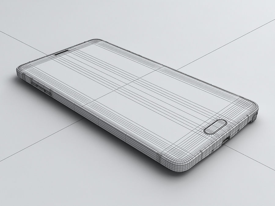Samsung Galaxy Note 4 royalty-free 3d model - Preview no. 22
