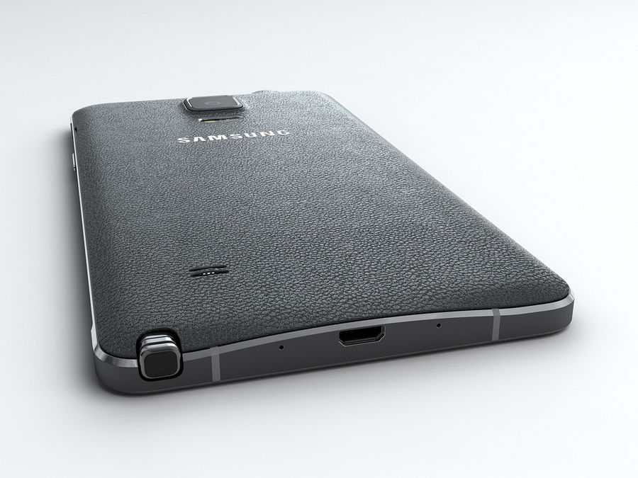 Samsung Galaxy Note 4 royalty-free 3d model - Preview no. 8