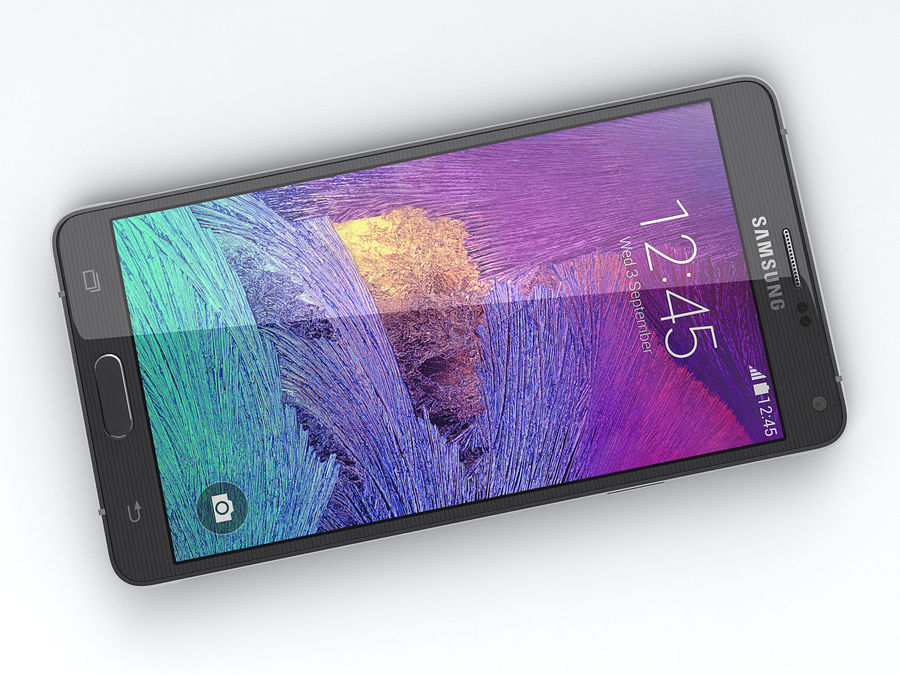 Samsung Galaxy Note 4 royalty-free 3d model - Preview no. 11
