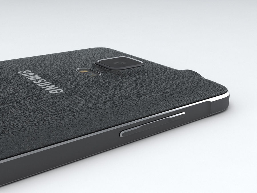 Samsung Galaxy Note 4 royalty-free 3d model - Preview no. 16