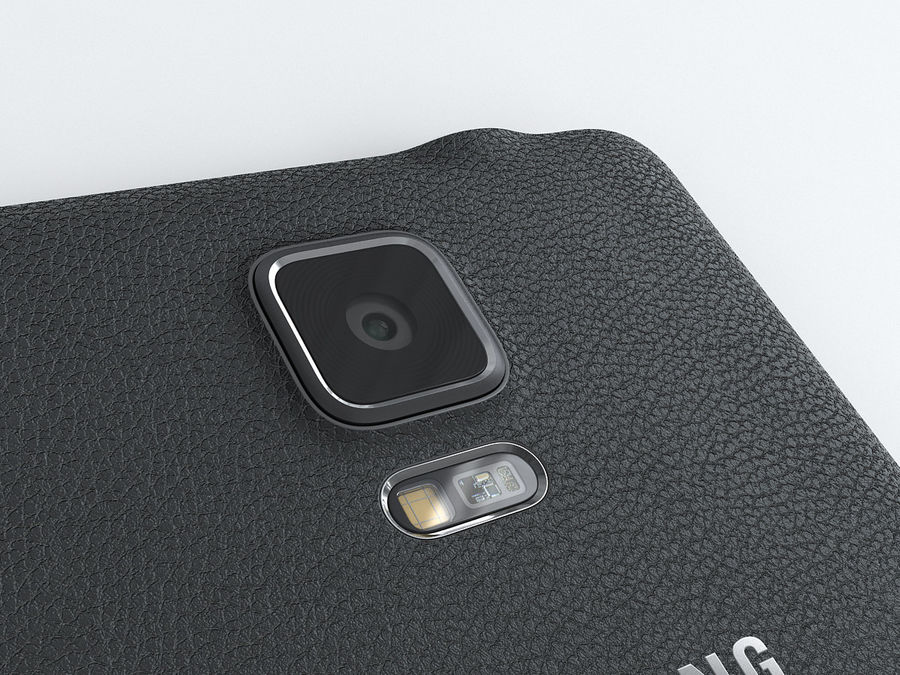 Samsung Galaxy Note 4 royalty-free 3d model - Preview no. 15