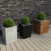 Hotell Bushes II 3d model