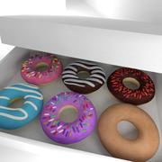 Donuts 3d model