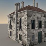 Italian Building 017 3d model