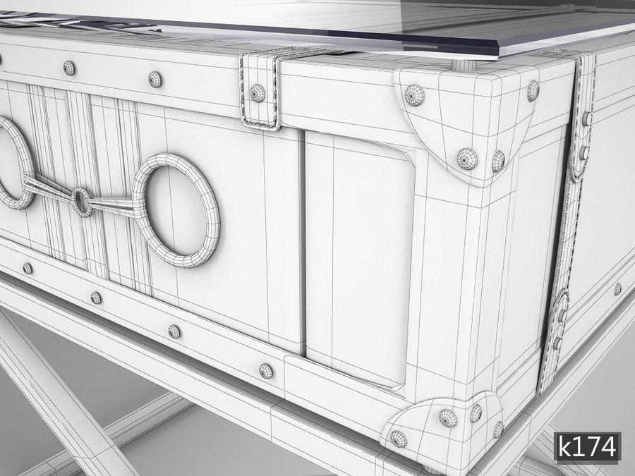 Low table Astoria Eichholtz tarafından royalty-free 3d model - Preview no. 4