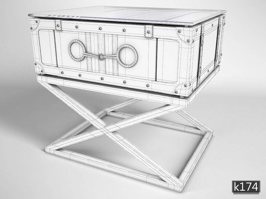 Low table Astoria Eichholtz tarafından royalty-free 3d model - Preview no. 3