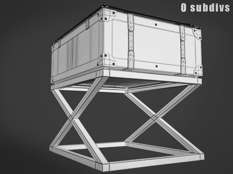 Low table Astoria Eichholtz tarafından royalty-free 3d model - Preview no. 5