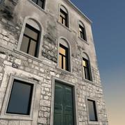 Italiaans gebouw 035 3d model