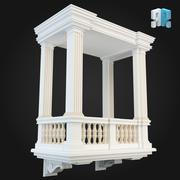 Balcony 016 3d model