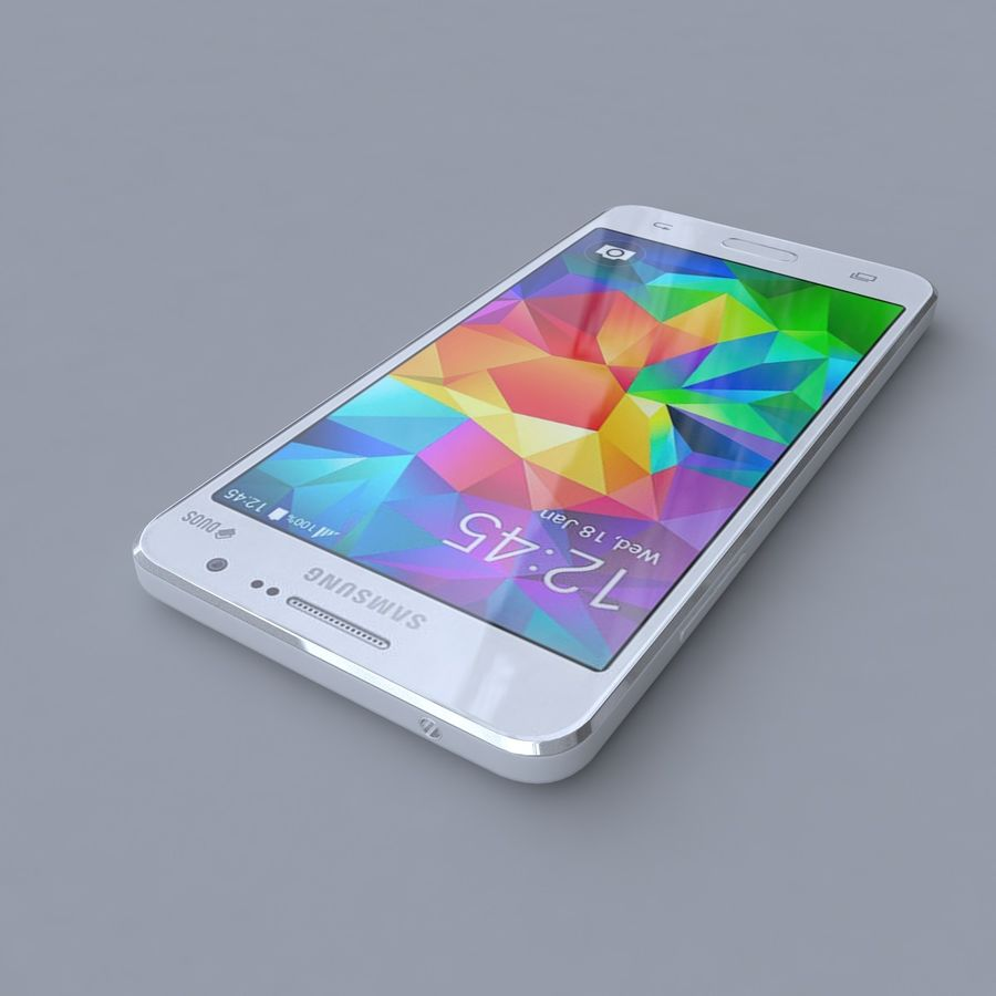 Samsung Galaxy Grand Prime royalty-free 3d model - Preview no. 2