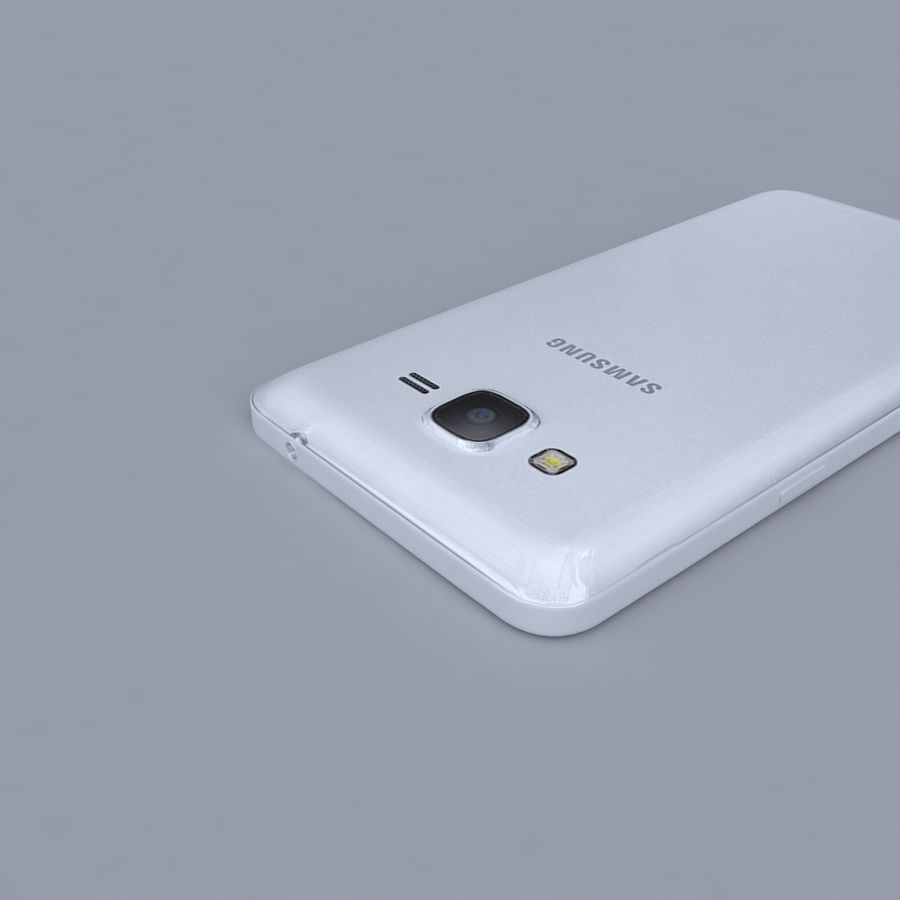 Samsung Galaxy Grand Prime royalty-free 3d model - Preview no. 5