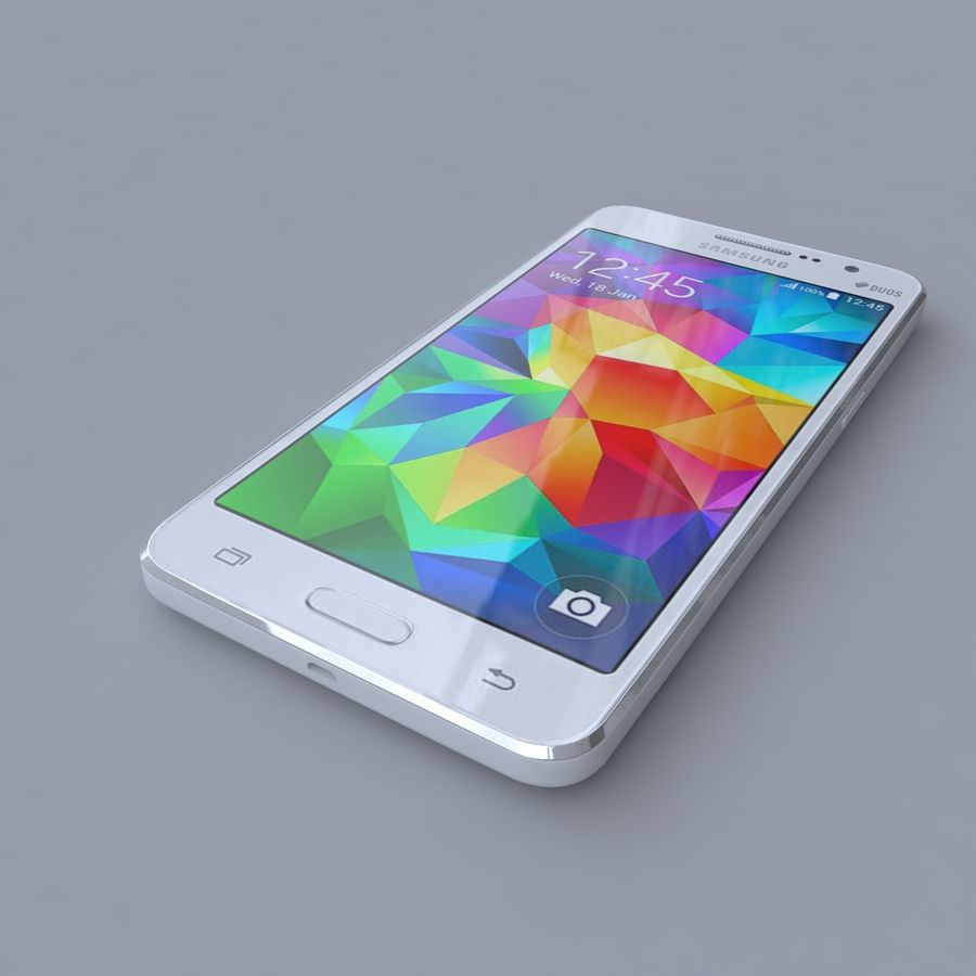 Samsung Galaxy Grand Prime royalty-free 3d model - Preview no. 1