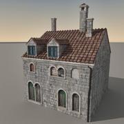 Italian Building 027 3d model