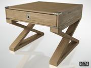 Eichholtz'den Wisconsin Low Table ve Konsol 3d model