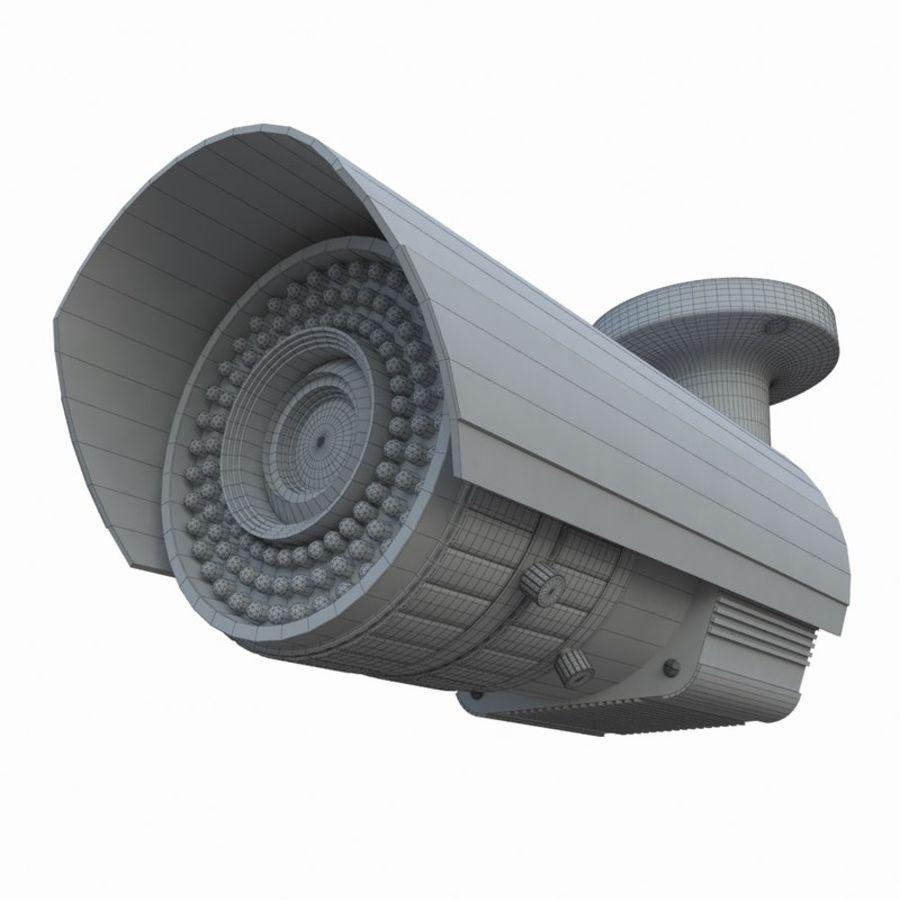 indoor CCTV camera royalty-free 3d model - Preview no. 7