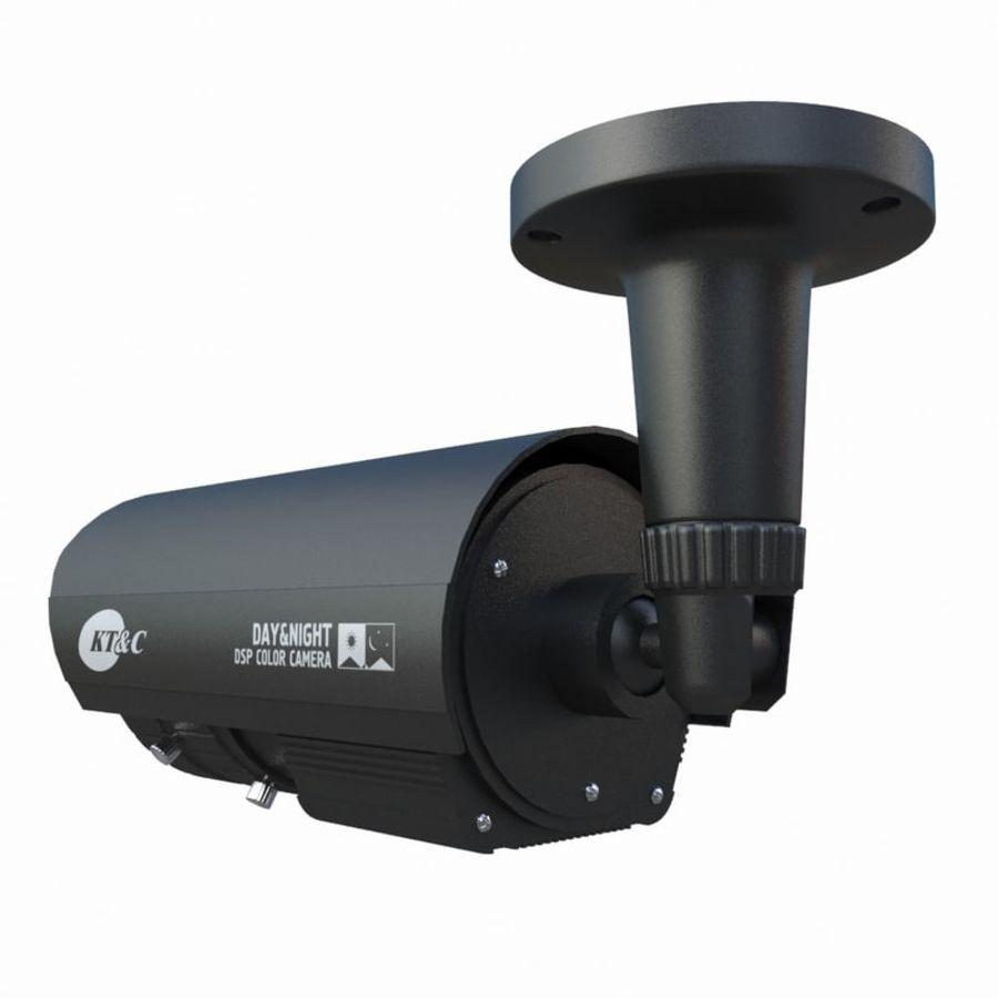 indoor CCTV camera royalty-free 3d model - Preview no. 5