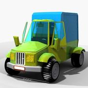 cartoon car 5 3d model