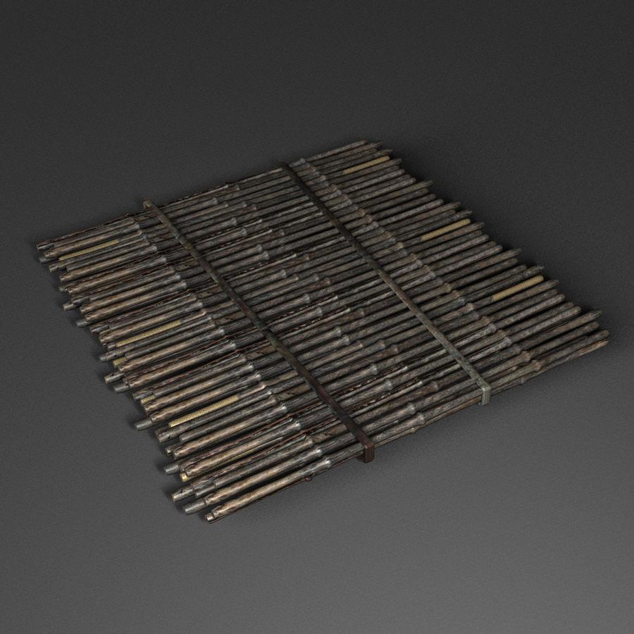 Rustik mat royalty-free 3d model - Preview no. 1
