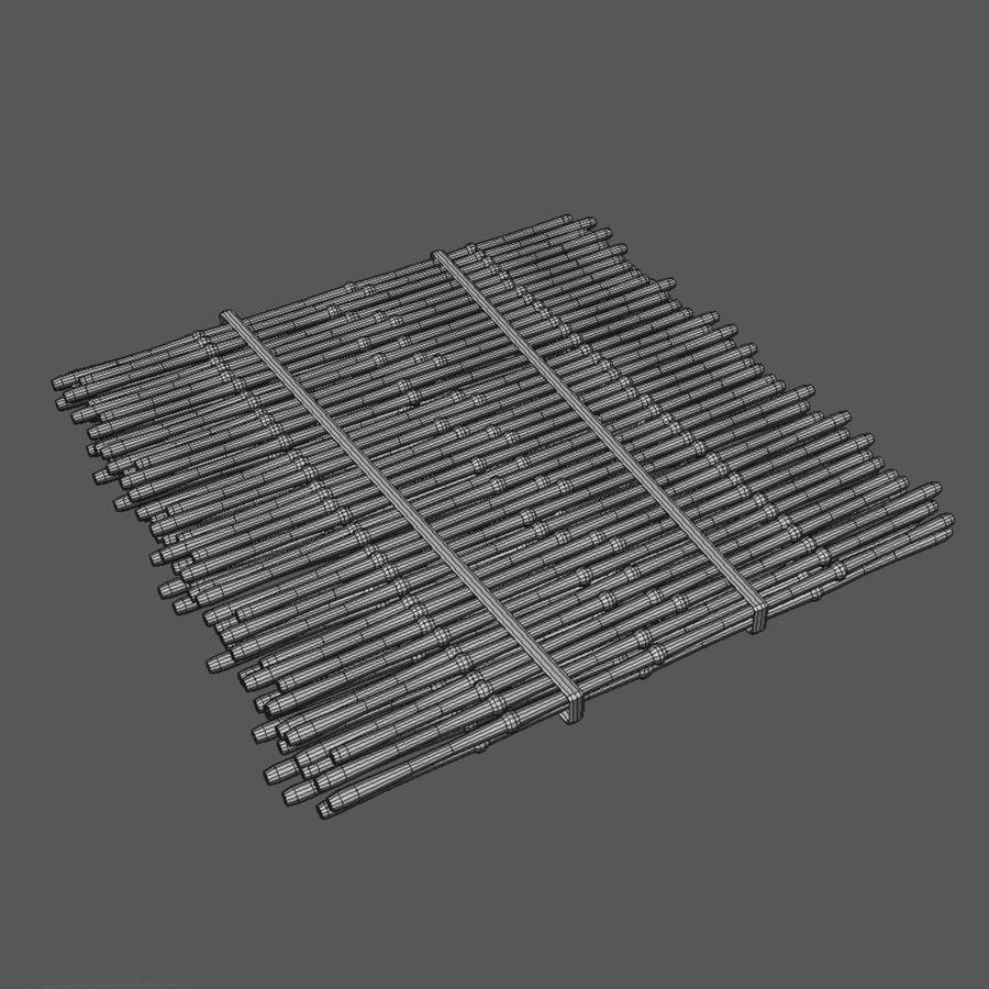 Rustik mat royalty-free 3d model - Preview no. 2
