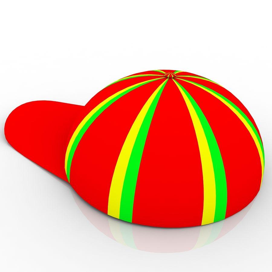 Cap Hat 3D Model $3 -  unknown  max  obj  dxf  dwg  3ds - Free3D