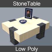 StoneTable 3d model